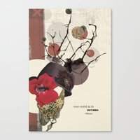 Your Mind Is In Disturbi… Canvas Print