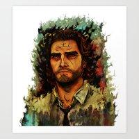 The Wolf Among Us Art Print