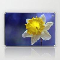 Daffodil in blue 9854 Laptop & iPad Skin