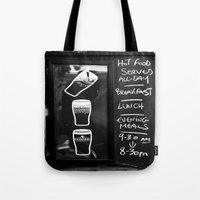 Liquid Lunch Tote Bag