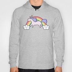 Unicorn with Rainbow Hoody