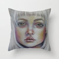 These Vibrant Scars  Throw Pillow