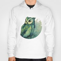 Green Owl Hoody
