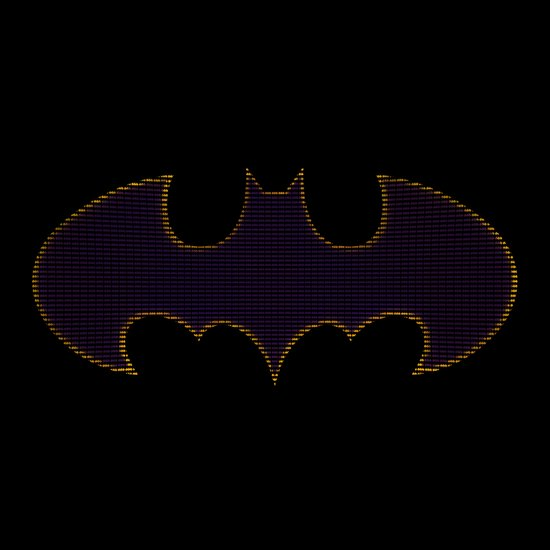 Batgirl Symbol Art Print