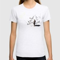 Lost Womens Fitted Tee Ash Grey SMALL