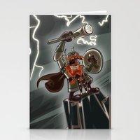 Bolt Thundersmite- Versi… Stationery Cards