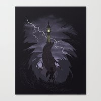 The Clock Tower Canvas Print