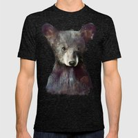 Little Bear Mens Fitted Tee Tri-Black SMALL