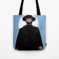 They'd Never Forget The Day He Drifted Into Town Tote Bag