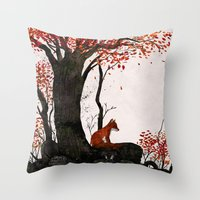 Fantastic Mr. Fox Doesn'… Throw Pillow