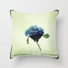 Hydrangea My Favorite Throw Pillow
