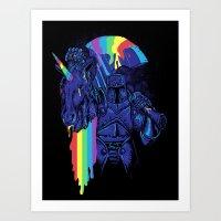 Rainbow Harvest (so Inte… Art Print
