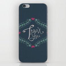 Thank you! iPhone & iPod Skin