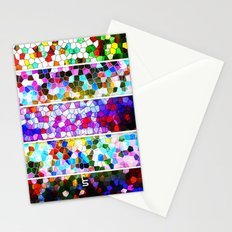 Geometric Worlds (Five Panels Series) Stationery Cards