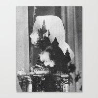 Feuer Canvas Print