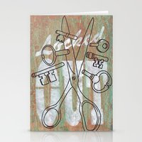 Locked Out? Get Some Mor… Stationery Cards