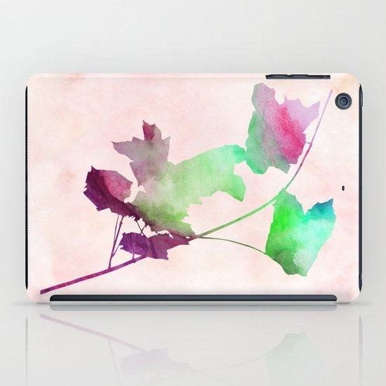 Maple2_Watercolor by Jacqueline Madonado & Garima Dhawan iPad Case