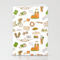 Summer Travel Stationery Cards