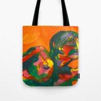 Fauvism Female Tote Bag