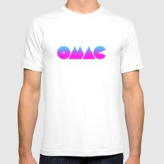 OMAC SMALL White Mens Fitted Tee