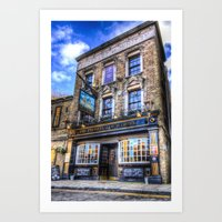 Prospect Of  Whitby Pub … Art Print