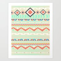 Native Art Print