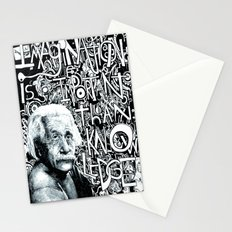 Einstein.  Stationery Cards
