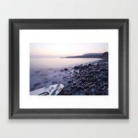 Kimmeridge Bay Framed Art Print