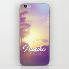 Psalm 57:8 Awake My Soul iPhone & iPod Skin