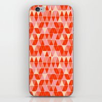 Prism - Coral iPhone & iPod Skin