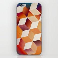 Oil Slick Cubes iPhone & iPod Skin