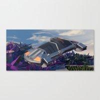 Traversi… Canvas Print