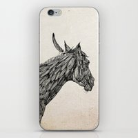 Feather Horse  iPhone & iPod Skin