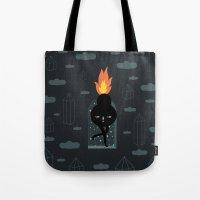 Mimu & The Fireboy Tote Bag