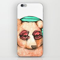 Poppies For Eyes iPhone & iPod Skin