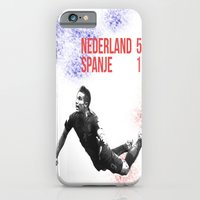iPhone & iPod Case featuring Van Persie - Spanje Nederland 1-5 Brazil by The Voetbal Factory