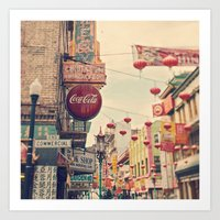 Chinatown (San Francisco… Art Print