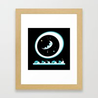 Oh but the laughing of the children? Framed Art Print