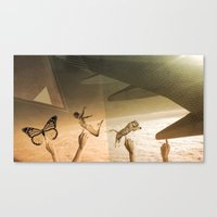 Flying With The Gods Canvas Print