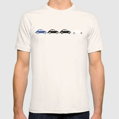 vw beetle abbey road  Mens Fitted Tee SMALL Natural