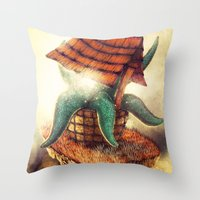 The Wormhole Throw Pillow