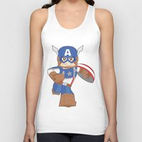 Lego Captain Unisex Tank Top