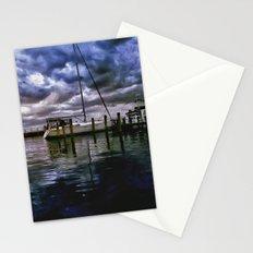 Boat Docks in Edenton Stationery Cards