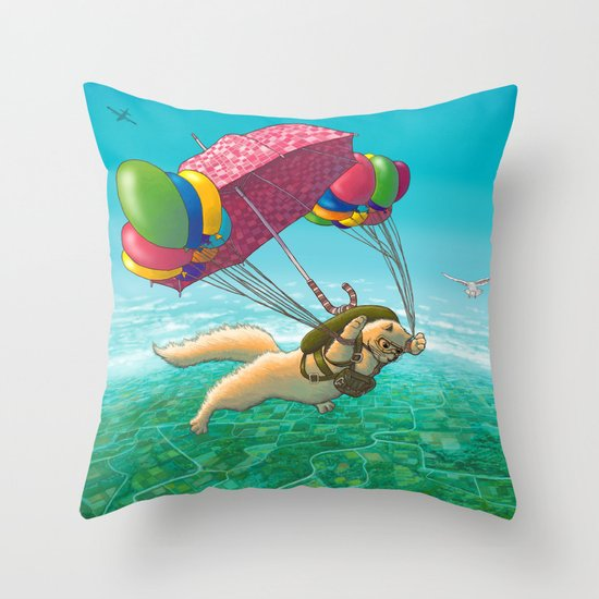 PARACHUTE Throw Pillow
