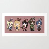 Steampunk Sailor Moon - Inners Art Print