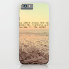 Staring at the Water iPhone 6s Slim Case