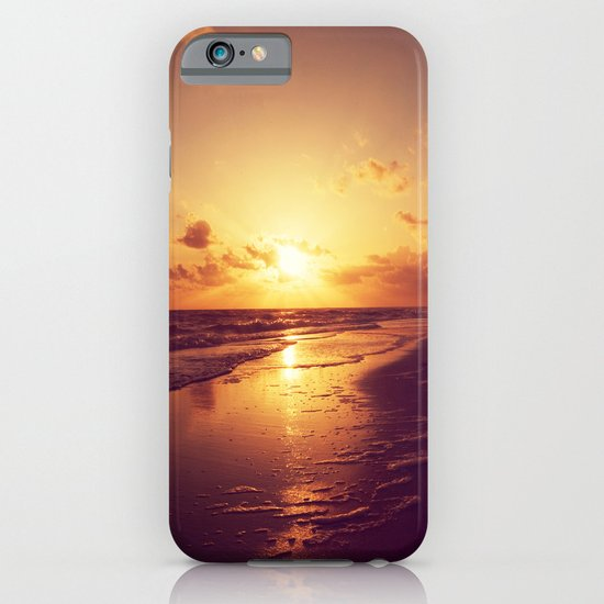 The Song of Sunset iPhone & iPod Case