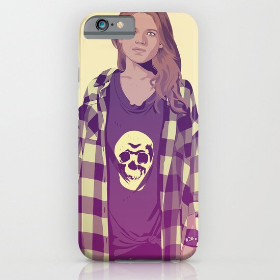 GAME OF THRONES 80/90s ERA CHARACTERS - Ygritte iPhone & iPod Case