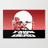 Yawn Of The Dead Canvas Print
