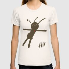 WYWS celebrationg Womens Fitted Tee Natural SMALL